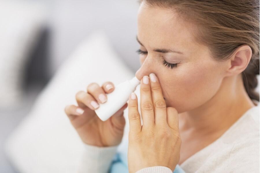 allergy saline remedy