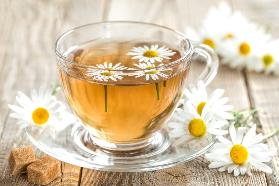 tea remedy for Ovarian cysts