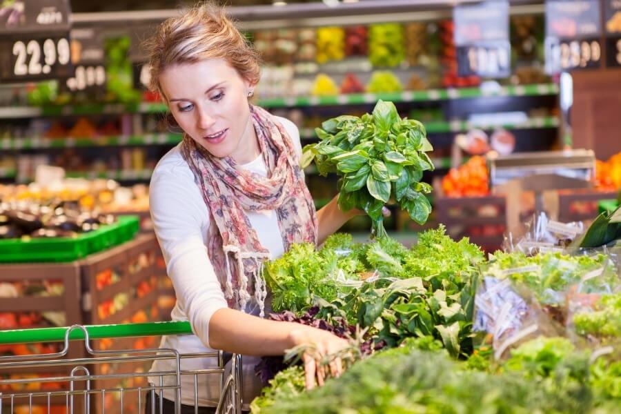 green leafy vegetable diet for women