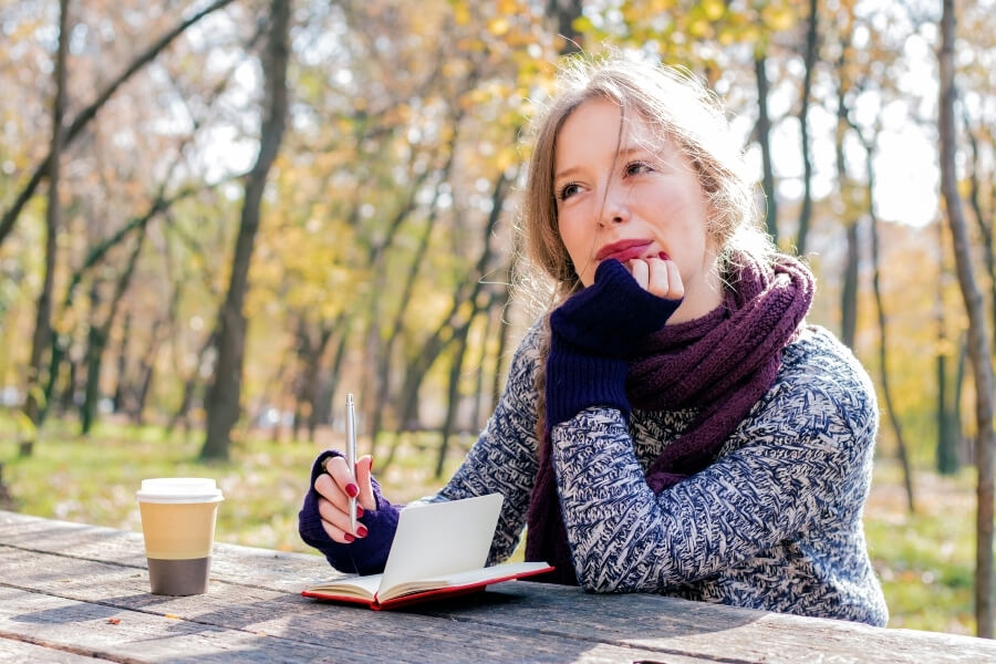 Nature Benefits of Journaling