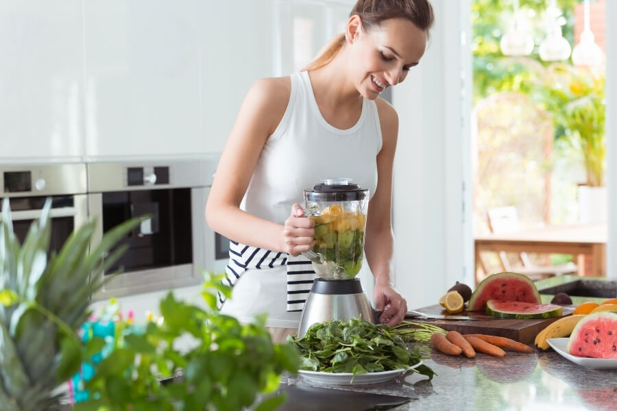 Woman Vegan Diet