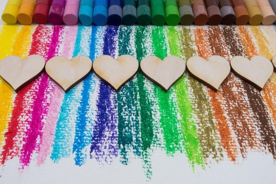 Colors that affect feelings