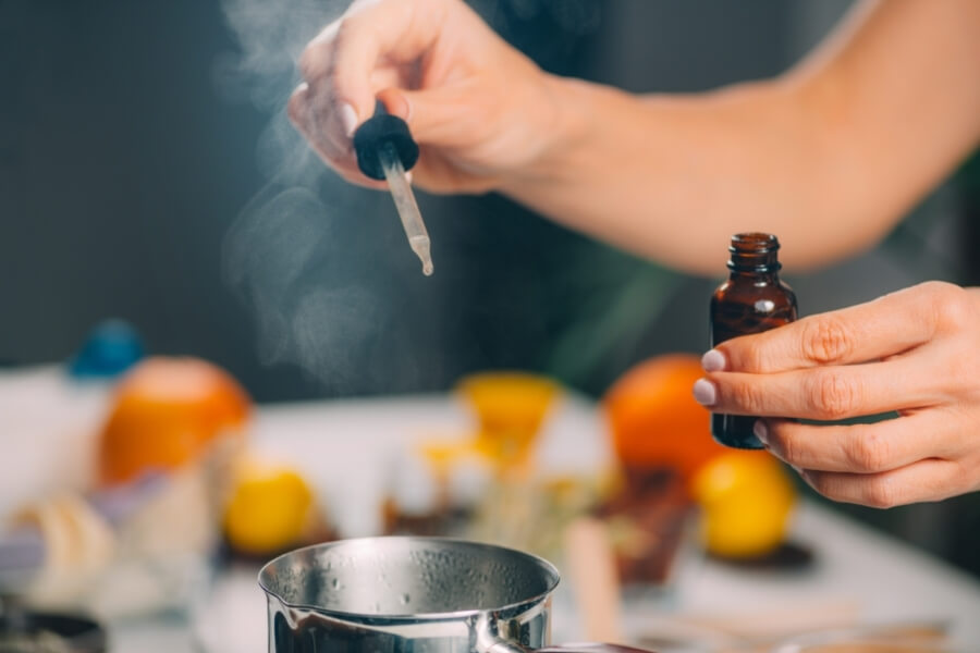 Essential Oils Extraction Processes