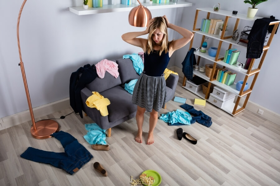 Clutter Affects Mental Health of the People