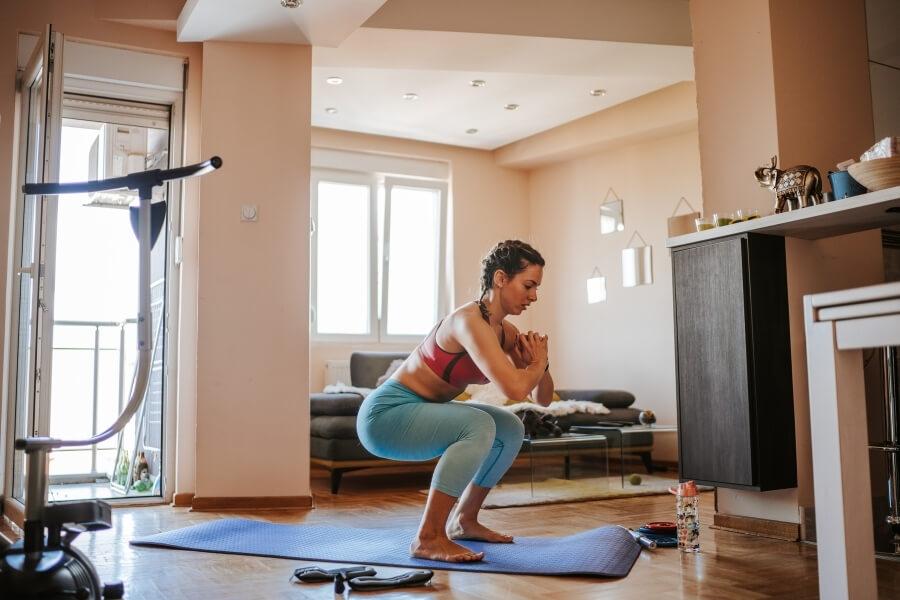 mild exercise routine